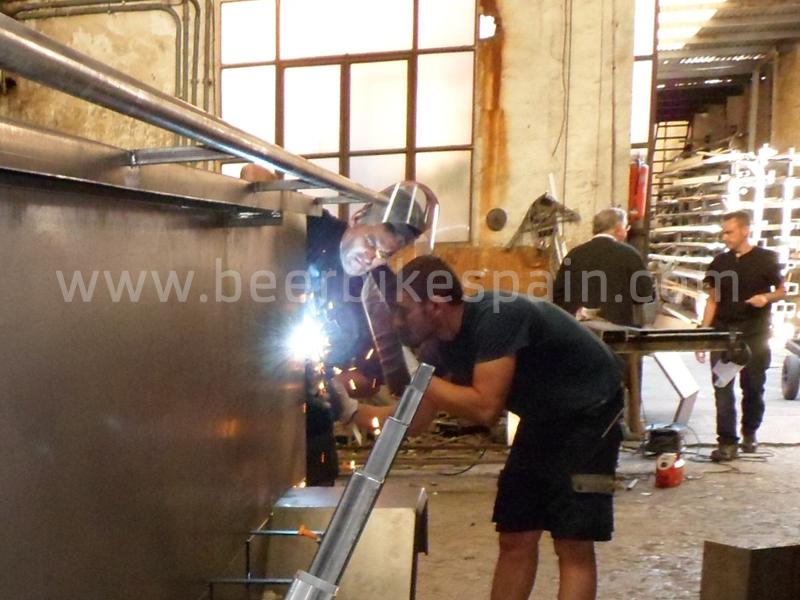 Beer Bike factory in Spain.