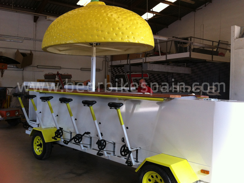 Beer Bike lemon