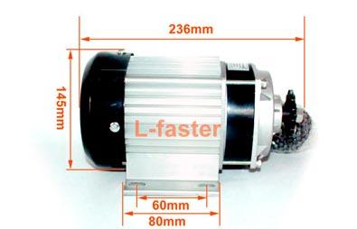 Motor Eléctrico 750w